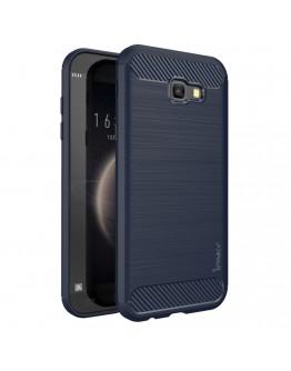 Carcasa protectie spate IPAKY din gel TPU pentru Samsung Galaxy A5 (2017), Albastru inchis