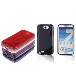 Carcasa protectie spate din silicon pentru Samsung Galaxy Note II N7100