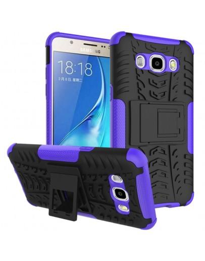 Carcasa protectie spate cu suport pentru Samsung Galaxy J5 (2016), mov