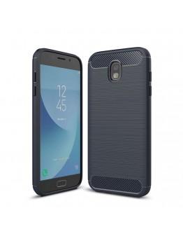 Carcasa protectie spate din gel TPU pentru Samsung Galaxy J7 G730 (2017), Albastru inchis