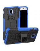 Carcasa protectie spate anti-alunecare pentru Samsung Galaxy J7 G730 (2017), Albastru