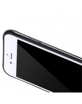 Carcasa protectie spate cu suprafata mata pentru iPhone 8 Plus / 7 Plus, neagra