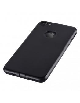 Carcasa protectie spate din gel TPU pentru  iPhone 7, neagra