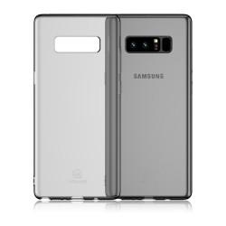 Carcasa protectie spate clara pentru Samsung Galaxy Note 8, neagra