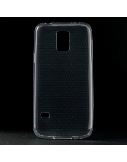 Carcasa protectie spate 0.6 mm pentru Samsung Galaxy S5 mini G800 - transparenta