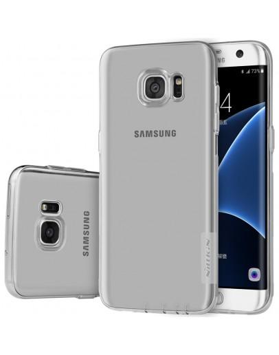 Carcasa protectie din gel TPU pentru Samsung Galaxy S7 Edge G935, gri
