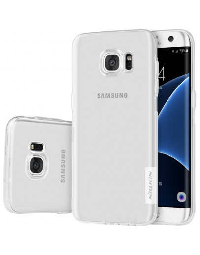 Carcasa protectie din gel TPU pentru Samsung Galaxy S7 Edge G935, transparenta