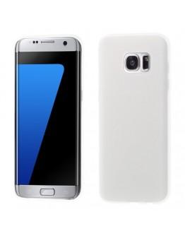 Carcasa de protectie mata din gel TPU pentru Samsung Galaxy S7 EdgeG935, transparenta