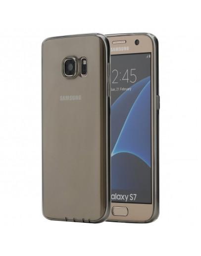 Carcasa protectie ROCK din gel TPU pentru Samsung Galaxy S7 Edge G935, gri