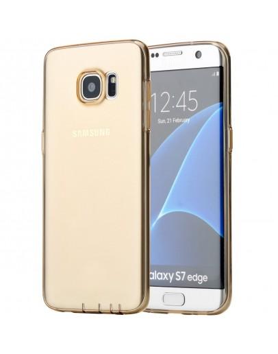 Carcasa protectie ROCK din gel TPU pentru Samsung Galaxy S7 Edge G935, gold