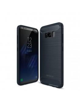 Carcasa protectie AMORUS din gel TPU pentru Samsung Galaxy S8+ G955, Albastru inchis