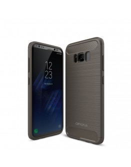 Carcasa protectie AMORUS din gel TPU pentru Samsung Galaxy S8+ G955, Gri