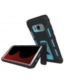 Carcasa protectie spate 2 in 1 pentru Samsung Galaxy S8 G950, albastra