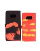Husa protectie cu inductie termala pentru Samsung Galaxy S8, rosu