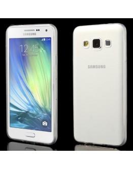 Carcasa protectie spate 0.6mm din gel TPU pentru Samsung Galaxy A3 SM-A300F - transparenta