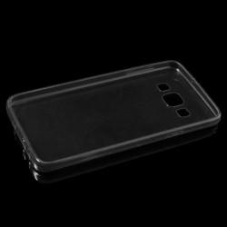 Carcasa protectie spate 0.6mm din gel TPU pentru Samsung Galaxy A3 SM-A300F - gri