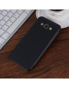Husa protectie flip cover pentru Samsung Galaxy A8 SM-A800F, neagra