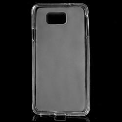 Carcasa protectie spate gel TPU pentru Samsung Galaxy Alpha G850 - alba