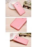 Carcasa protectie spate 0.5 mm pentru Samsung Galaxy Core 2 G355H  - rosie