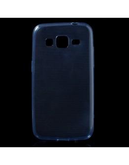 Carcasa protectie spate 0.6mm din gel TPU pentru Samsung Galaxy Core Prime G360 - albastra