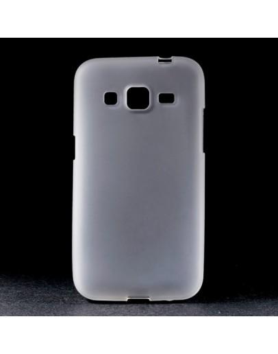 Carcasa protectie spate aspect mat pentru Samsung Galaxy Core Prime SM-G360 - alba