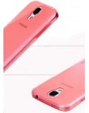 Carcasa protectie spate 0.5mm pentru Samsung Galaxy S4 - rosie