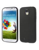 "Carcasa protectie spate ""Mesh"" pentru  Samsung Galaxy S4 - neagra"