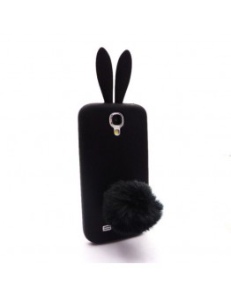 Carcasa protectie spate iepure din silicon pentru Samsung Galaxy S4