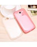 Carcasa protectie spate 0.5mm pentru Samsung Galaxy Grand Neo I9060 I9062 I9082 - alb transparent