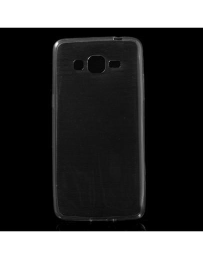 Carcasa protectie spate 0.6mm din gel TPU pentru Samsung Galaxy Grand Prime SM-G530H - gri