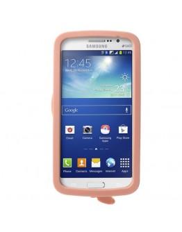 Carcasa protectie spate Beauty M&M pentru Samsung Galaxy Grand 2 Duos G7102 - roz deschis