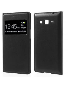 Husa protectie Smart View pentru Samsung Galaxy Grand 2 G7102/7105 - neagra