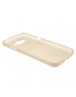 Carcasa protectie spate din gel TPU pentru Samsung Galaxy J5 - gold