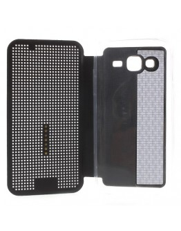 "Husa de protectie ""Smart Dot View"" pentru Samsung Galaxy J5 - neagra"