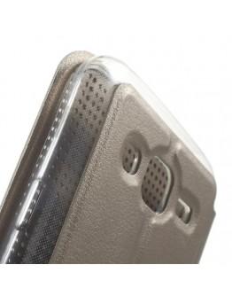 """Husa de protectie """"Smart Dot View"""" pentru Samsung Galaxy J5 - gri"""