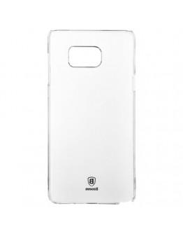 Carcasa protectie spate BASEUS din plastic pentru Samsung Galaxy Note 5 - transparenta