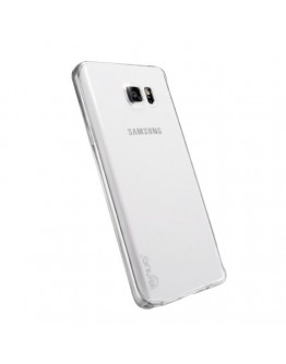 Carcasa protectie spate LENUO din gel TPU pentru Samsung Galaxy Note 5 - transparenta