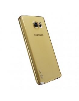 Carcasa protectie spate LENUO din gel TPU pentru Samsung Galaxy Note 5 - gold