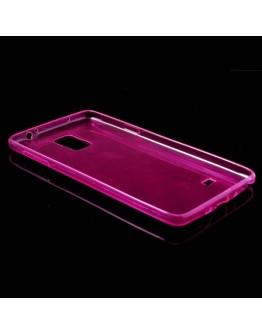 Carcasa protectie spate gel TPU 0.5mm pentru Samsung Galaxy Note 4 N910 - roz