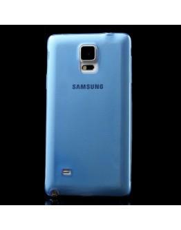 Carcasa protectie spate gel TPU 0.5mm pentru Samsung Galaxy Note 4 N910 - albastra