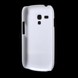 Carcasa protectie spate din plastic pentru Samsung Galaxy S3 Mini i8190 - alba