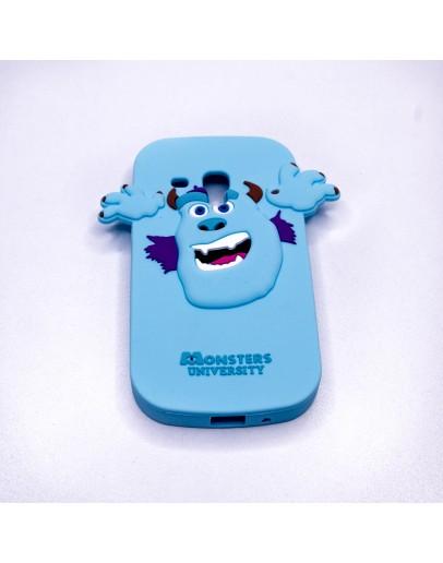 "Carcasa protectie ""Monstrul Sullivan"" pt Samsung S3 Mini"