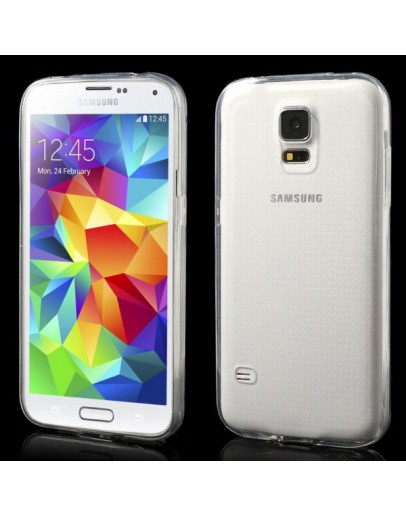 Carcasa protectie gel TPU pentru Samsung Galaxy S5 G900 - transparenta