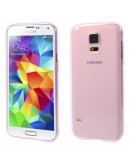 Carcasa protectie gel TPU pentru Samsung Galaxy S5 G900 - roz
