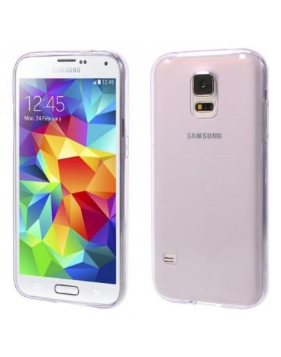 Carcasa protectie gel TPU pentru Samsung Galaxy S5 G900 - mov