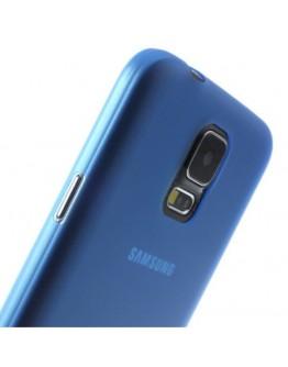 Carcasa protectie spate 0.3 mm pentru Samsung Galaxy S5 G900 - albastra