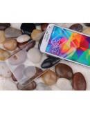 Carcasa protectie spate 0.6 mm pentru Samsung Galaxy S5 G900 - transparenta