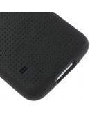 "Carcasa protectie spate ""Mesh"" pentru  Samsung Galaxy S5 - neagra"