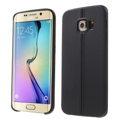 Carcasa protectie spate pentru Samsung Galaxy S6 Edge, neagra