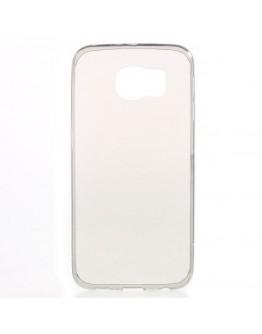 Carcasa protectie spate 0.6mm din gel TPU pentru Samsung Galaxy S6 G920 - gri